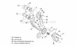 Engine - Front Cylinder Timing System - Aprilia - Camshaft