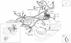 Frame - Electrical System II - Aprilia - Wiring