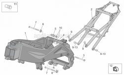 Frame - Frame I - Aprilia - BASTIDOR ORO