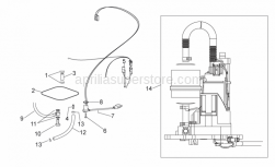 Frame - Fuel Pump - Aprilia - screw