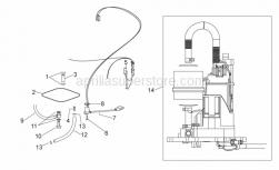 Frame - Fuel Pump - Aprilia - Fuel pump wiring