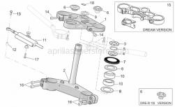 Frame - Steering - Aprilia - Dust cover ring