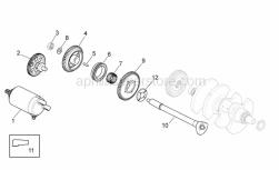 Engine - Ignition Unit - Aprilia - Belleville spring