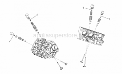 OEM Engine Parts Diagrams - Valves Pads - Aprilia - Pad
