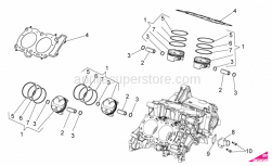 Engine - Cylinder - Piston - Aprilia - Cylinder head gasket