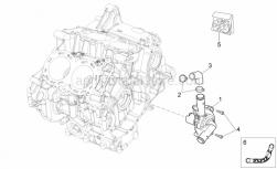 OEM Engine Parts Diagrams - Water Pump - Aprilia - Hex socket screw M6x25
