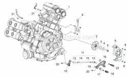 Engine - Engine - Aprilia - Screw w/ flange M6x12