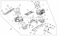 Engine - Throttle Body - Aprilia - ECU