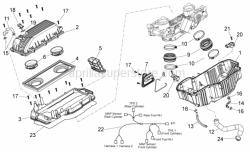 Frame - Air Box - Aprilia - Air pressure sensor