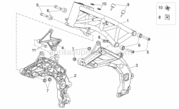 Frame - Frame I - Aprilia - Screw