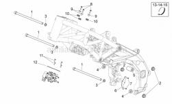 Frame - Frame II - Aprilia - Engine pin