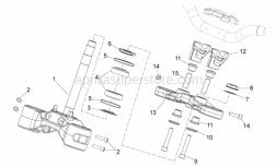 Frame - Steering - Aprilia - Lower fork plate