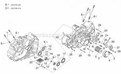 Engine - Crankcases I - Aprilia - Clutch disengagement flange