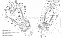 Engine - Cylinder Head And Valves - Aprilia - Camshaft sensor cpl.