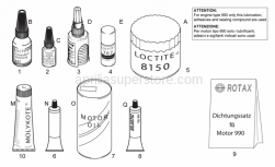 Engine - Sealing And Lubricating Agents - Aprilia - Loctite 8150