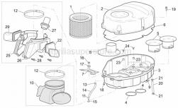 Frame - Air Box - Aprilia - pipe 9x14