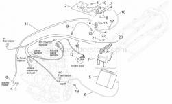 Frame - Central Electrical System - Aprilia - Self-locking nut M6