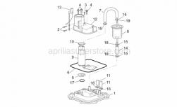 Frame - Fuel Pump I - Aprilia - Fuel pump flange