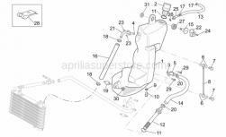 Frame - Oil Tank - Aprilia - Oil inlet pipe