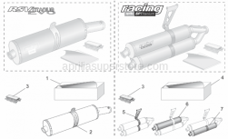 Accessories - Acc. - Performance Parts III - Aprilia - Soundproofing cartridge assy.