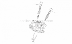 Engine - Valves Pads - Aprilia - Pad 2,45