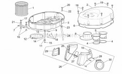 Frame - Air Box - Aprilia - Intake hose RH