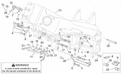 Frame - Frame Iii - Aprilia - Hex socket screw M10x45