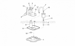 Frame - Fuel Pump I - Aprilia - Self-tap screw 3,9x14