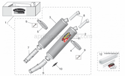 LH silencer support clamp