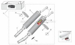 LH manifold pipe