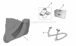 Accessories - Acc. - Various I - Aprilia - Installation Kit for Alarm 2006 Tuono