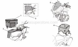 Accessories - Acc. - Various Ii - Aprilia - Tank bag