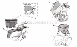 Accessories - Acc. - Various Ii - Aprilia - Tank bag rain hood
