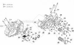 Engine - Crankcases II - Aprilia - Oil filter