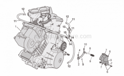 Engine - Engine - Aprilia - Spacer *