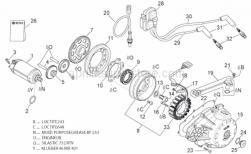 Engine - Ignition Unit - Aprilia - Double gear