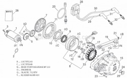 Engine - Ignition Unit - Aprilia - Starter motor revision kit