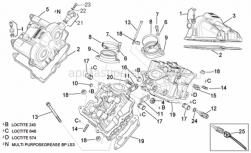 Engine - Valves Cover - Aprilia - Cover m18x1,5