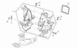 Frame - Front Body - Duct - Aprilia - Screw w/ flange M6x20