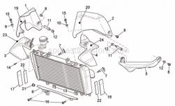 Frame - Front Body - Fairings I - Aprilia - SPOILER SX CARBONIO