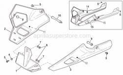 Frame - Front Body - Fairings II - Aprilia - Screw w/ flange