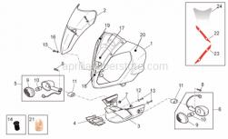 Frame - Front Body - Front Fairing - Aprilia - Hex socket screw M6x60*