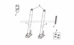 Frame - Front Fork Ii - Aprilia - Plug cpl.