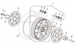 Front/rear tyre 120/70 ZR 17 Pirelli