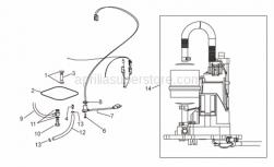 Frame - Fuel Pump - Aprilia - Fuel pump cpl.