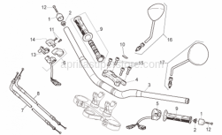 Frame - Handlebar - Controls - Aprilia - Cap screw