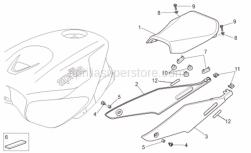 Frame - Saddle - Aprilia - Adhesive sponge 15X5