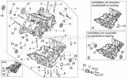 Engine - Crank-Case I - Aprilia - Bushing,yellow