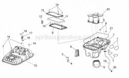 Frame - Air Box - Aprilia - Gasket