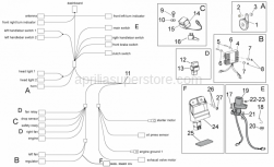 Frame - Electrical System I - Aprilia - Hex socket screw